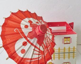 Umbrella paper Japanese mini