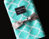 Doll Sling-READY TO SHIP-Just Like Mommy Baby Doll Sling-Teal Lattice-Free Shipping When Purchased With A Wrap