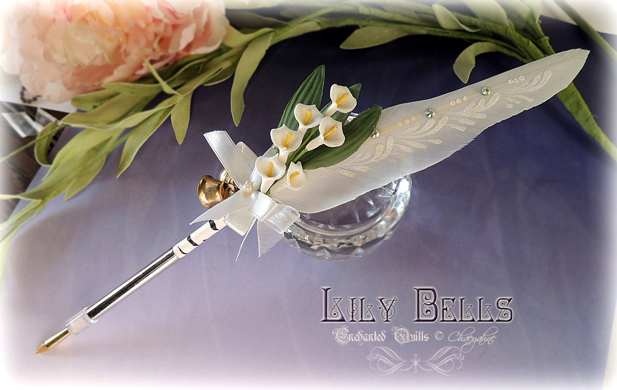 Wedding Pens Favors Chaeyahnes Enchanted Quills