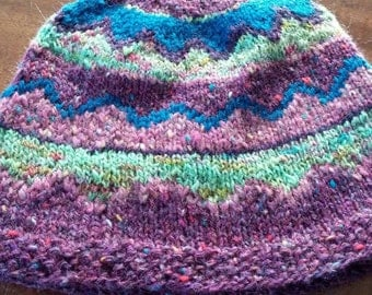 Purple mountains majesty hat