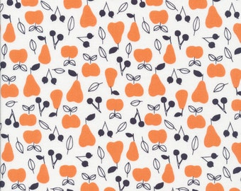 YARDS or HALF YARDS - Apple and Pear by Little Cube for Cloud9 Fabrics
