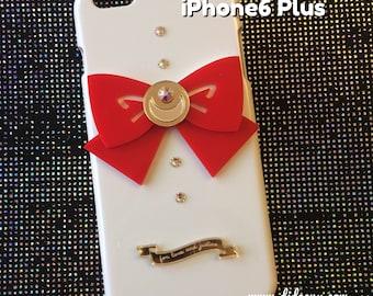 Sailor moon bow white iphone 6 plus case