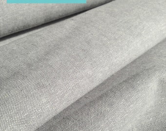 Essex Linen, Essex Yarn Dyed, Apparel Fabric, Quilt fabric, Cotton fabric, Gray fabric, Linen fabric, Robert Kaufman, Essex in Steel