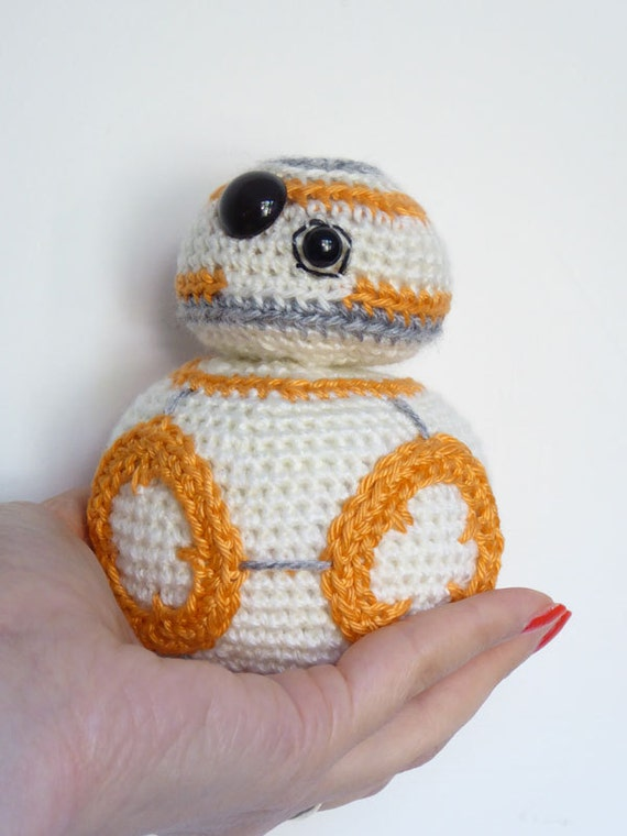 Free Crochet Patterns Amigurumi Star Wars : Star Wars BB-8 Crochet Pattern BB8 Amigurumi Pattern Make