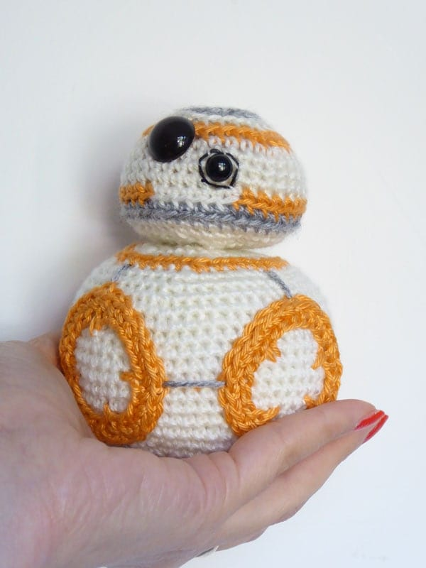 Free Amigurumi Snowman Crochet Patterns : Star Wars BB-8 Crochet Pattern BB8 Amigurumi Pattern Make