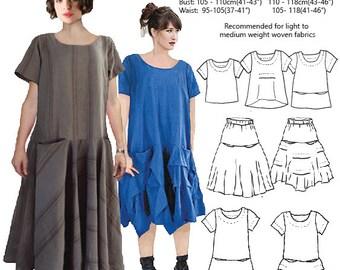 Judith Suite PDF sewing pattern, 2 MEDIUM sizes