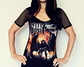Battle Beast shirt Hoodie hooded tunic top heavy metal clothing alternative apparel rocker chic altered band tee t-shirt reconstructed