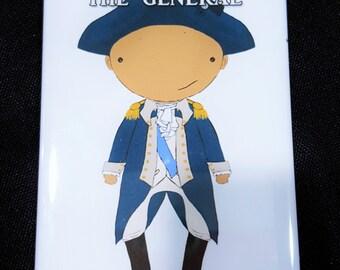 General George Washington original art magnet Broadway musical