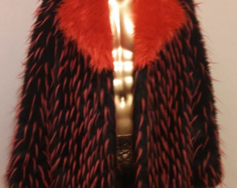 Faux FUR COAT for Burning Man - Many OPTIONS and Sizes