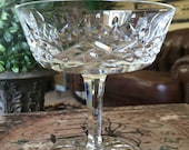 Waterford Crystal Champagne Glass Sherbert Lismore Pattern TYCAALAK