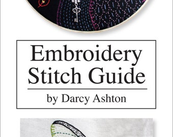 Embroidery Stitch Guide -- Hand Embroidery Stitches