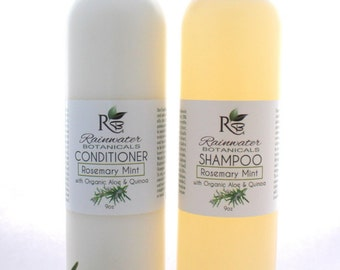 New Shampoo and Conditioner with Organic Quinoa and Aloe