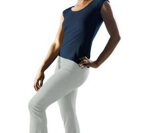 Size XS // Dance Pants // Yoga Pants // Organic Cotton & Hemp w/lycra // Eco Fashion // XS