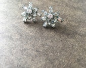 Boothbay Harbor Rhinestone Earrings