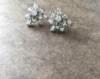 Boothbay Harbor Rhinestone Earrings