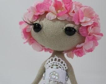 Fantasy Art Doll - Floral Moon Baby - Iris