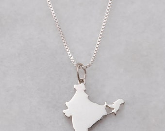Sterling Silver India Pendant