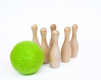 Bowling Game with Large Soft Ball