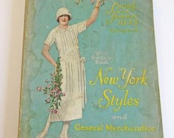 Vintage 1925 Fashion 560 Page Catalog Beautiful Flapper Fashions Color Advertisements Lingerie, Clothing, Housewares