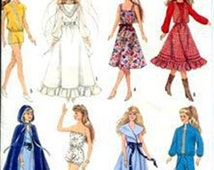 Simplicity 8333 11.5 inch Doll Clothes  (Barbie)