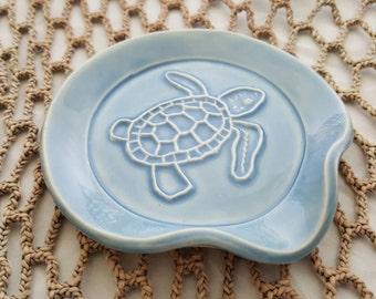 Spoon Holder - Tea Bag Holder - Turtle