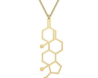 Testosterone Necklace - Gold