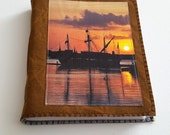 Harbor Sunset mid size journal