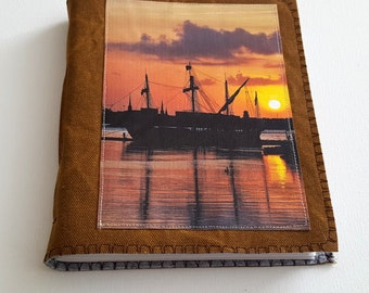 SALE Harbor Sunset mid size journal