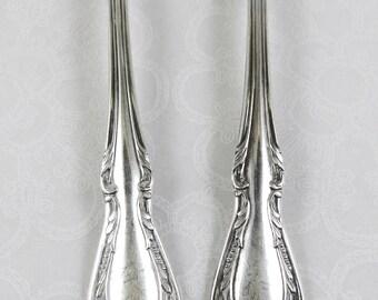 2 Salad Forks - 1958 Chalice pattern - Wm A Rogers/Oneida