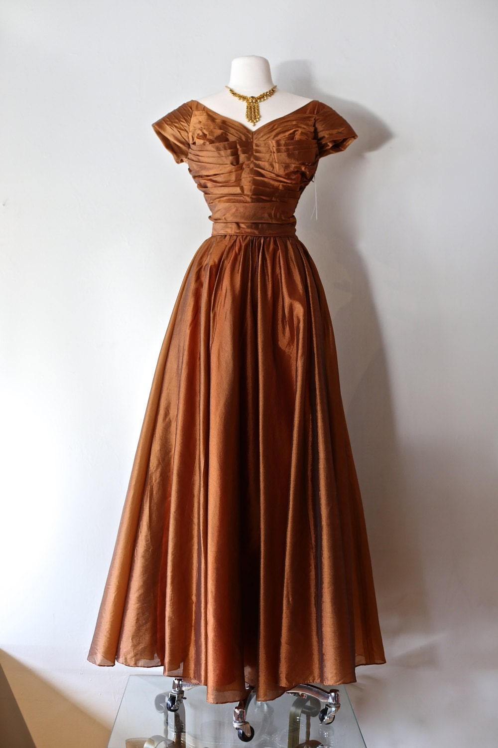 Vintage 1950s Emma Domb Prom Dress Vintage 50s Formal