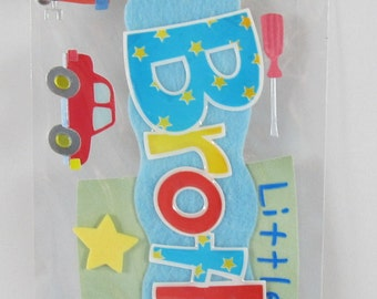 Jolee's Boutique - Dimensional Stickers - Little Brother - SC011