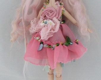 DAWN 8 inch porcelain jointed fairy doll handmade in the USA
