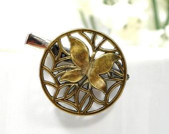 Butterfly Hair Clip Bronze Hair Pin Small Hair Clip Butterfly Hair Pin