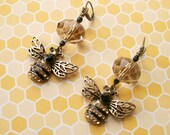 QUEEN BEE EARRINGS -Spring Garden Collection - Jewelry