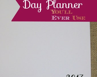 itsjustemmy January 2017 to December 2017 Months-Only Day Planner Blank Cover