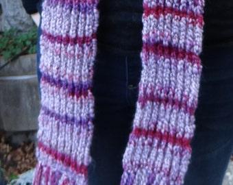Cozy Striped Scarf