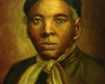 Oil Painting of Harriet Tubman