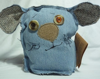Colby Grunt- handmade, upcycled, friendly monster