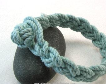 Ball knot rope bracelet Band of Courage braided bracelet Dysautonomia Advocacy Foundation