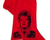 Red Ziggy Stardust Scarf