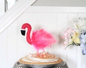 Flamingo Cake Topper - Farrah