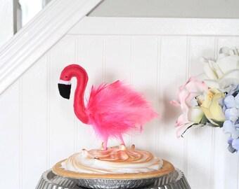 Flamingo Cake Topper - Farrah