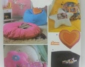 Simply Teen Room Accessories Pattern Simplicity 5105 Easy Pillow Patterns Bean Bag Chair Floor Pillows,Star Pillow,Square Pillow Pattern