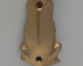 Dog Hook Cast Iron Gold Leash Hook Home Decor