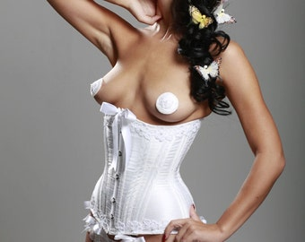 Victorian hourglass bridal wedding custom underbust corset