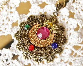 Vintage Sailor Moon Transformation Locket #1 Necklace