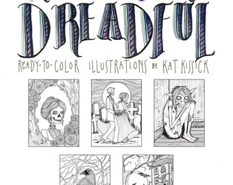 Pretty Dreadful Coloring Pages