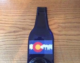 Colorado Blue Beer Bottle Spoon Rest