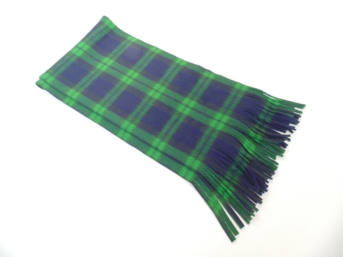 green plaid scarf green tartan fleece scarf mens scarf
