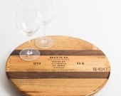 "Bond Wine Crate and Inlay featured on our 16"" Lazy Susan"